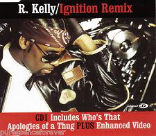 R. KELLY - Ignition Remix (UK 4 Tk Enh CD Single Pt 1)
