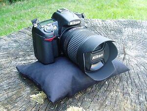 Birdwatching Scope or Photographers Camera rest beanbag : Small  black  bean bag