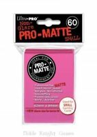 (600) Ultra Pro HOT PINK Pro-Matte SMALL YUGIOH Deck Protector Sleeves