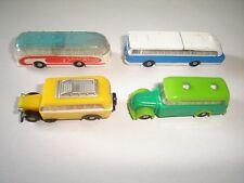 CLASSIC BUSES COACHES MODEL CARS 1960's SET 1:160 N - KINDER SURPRISE MINIATURES