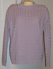Alfred Dunner Sweater Size Large New with Tags Sugarplum Purple USA Washable