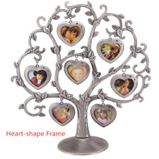 Family Tree Photo Frame Baby Ancestry Gift Rustic Home Memory Metal Collage Life