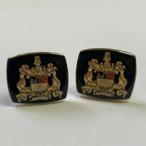 Pair of City of Auckland Coat of Arms Cufflinks