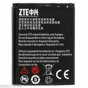 ZTE Corps Lithium-Ion GB / T 18287-2000 900mAh 4.2V 3.4Wh Standard Portable Pile