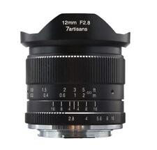 7artisans 12mm f/2.8 wide angle APS-C lens for Sony E mount NEX A6300 A6500 NEX6