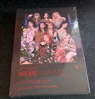 [NEW SEALED] VERSION A or B TWICE MORE AND MORE 9TH MINI ALBUM FIRST PRESS BENEF