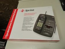 Sprint Speakerphone Telephone / Answering System 43-5820 Black