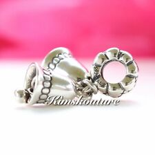 Authentic Pandora Christmas Sterling Silver Bells Cham 791230 *RETIRED*