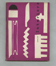1951 Milan Triennale Special Issue INTERIORS Italian GOOD Design 8 Autos at MoMA