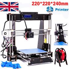 New 3D Printer Prusa i3 DIY Kit MK8 Extruder,MK3 Heatbed,Large Structure Size