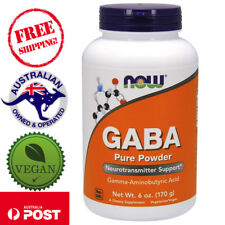 2x Now Foods, GABA Powder, 6 oz (170 g) - Vegan promotes Calm and Relaxation