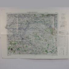 Reprint WW2 30 corps Operation Market Garden Arnhem Map BOK417