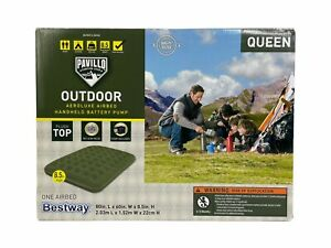 Bestway Pavillo Camping Gear Outdoor Aeroluxe Airbed Queen Air mattress NIB!