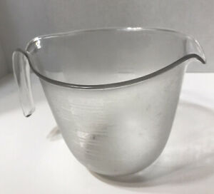 VTG Rubbermaid 6 Cup Microwave Cookables Measures Pouring Batter Bowl # 5514