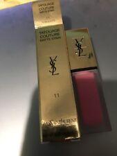 YSL # 11LIPSTICK Tatouage Couture Liquid Matte Lip Stain Rose Illicite
