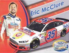 2014 Eric McClure Hefty Ford Fusion Daytona 500 NASCAR Sprint Cup postcard