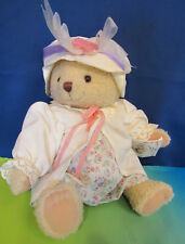 Hallmark 2003 Mary Mary Bearworthy Soft Plush Tags Wearing Hat Jacket & Dress