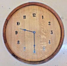 Builtmore Estate Wine Barrel head Wall Clock With Winery Logo Lot #2