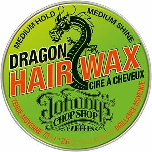 Johnny's Chop Shop Dragon Hair Wax Medium Hold Non Greasy- 75g