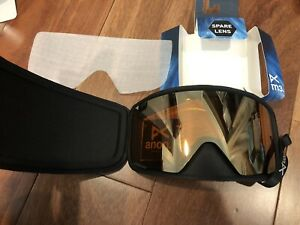 NEW Anon M3 Ski Snow Burton Sonar Bronze Zeiss Replacement Lens