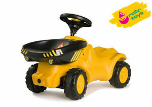 Rolly Toys MiniTrac Dumper Ride-on Dump Truck Tipping Function - AGE 1/2 - 4