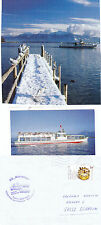 GERMAN DAY CRUISER MS MAXIMILLIAN A SHIPS CACHED COVER & 2 SMALL MAG PICTURES