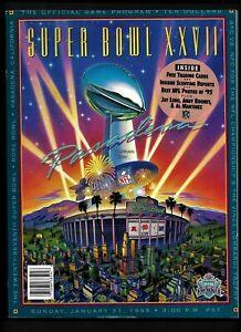 SUPER BOWL XXVII  1993   SUPER BOWL PROGRAM     DALLAS vs. BUFFALO    Near Mint