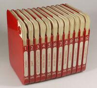 PRL) ENCICLOPEDIA VOGLIAMAGLIA 1985 FABBRI EDITORI 12 VOLUMI RICAMO MAGLIA MODA