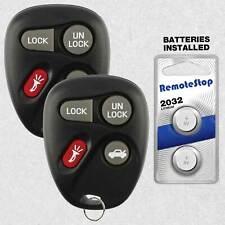 2 For 1996 1997 1998 1999 Oldsmobile Aurora Pontiac Bonneville Remote Key Fob