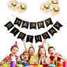 Joyeux anniversaire ballons gonflables confettis ballons décor de fête d'enfant