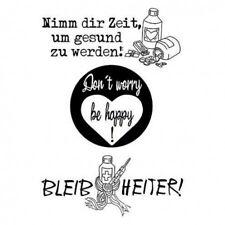 EFCO Clear Stamps Stempel Nimm dir Zeit... * 3-tlg.  4511101