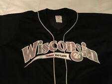 Wisconsin Timber Rattlers Baseball Rawlings Brand Jersey Milwaukee Brewers