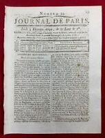 Guyane en 1791 Cayenne Colonie Saint Domingue Haïti Malouet Gard  Robespierre
