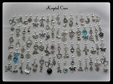 Silver Metal Scrapbooking Embellishments