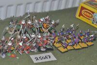 25mm medieval / english - billmen 40 figures - inf (25067)