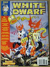 White Dwarf - Edizione Inglese - N. 203 - Mese Novembre
