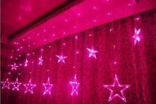 2.5M/138LED String Fairy Star Lights Lamp Xmas Wedding Summer Party Outdoor DECO