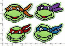 20 Pcs Embroidered Iron on Patches Cartoon Mutant Turtles AP013eD
