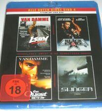 LEON + Cyborg + Black Eagle - Blu-ray/NEU/OVP/Action/Jean-Claude van DammeFSK 18