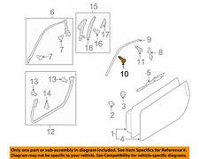 NISSAN OEM Front Bumper-Bumper Cover Clip 0155301A50