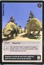 Star Wars Jedi Knights TCG Premiere #116 Dewback Patrol [L] SILVER