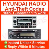 HYUNDAI RADIO CODE UNLOCK STEREO