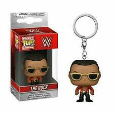 Funko Wwe Pocket Pop! Keychain The Rock New In Stock!