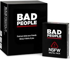 BAD PEOPLE - The Adult Party Game + The NSFW Brutal Expansion Pack