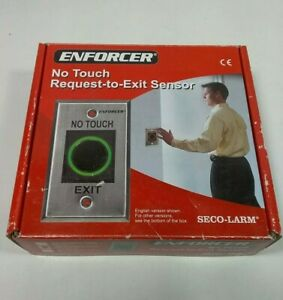Enforcer SD-927PKC-NSQ No Touch Request-to-Exit Sensor (Spanish), Skbawa-b110-jb