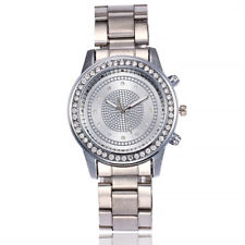 Fashion Luxury Women's Watch Stainless Steel Band Quartz Analog Wrist Watches