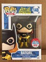Funko POP! Batgirl w/ Boomerang #148 2016 New York Comic Con NYCC Exclusive *NEW