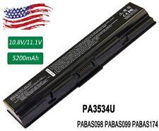 Battery For TOSHIBA Satellite L455 L500 L505 L550 L555 M200 Laptop PA3534U-1BRS