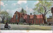 (y2q) Postcard: Havard University, The Gymnasium
