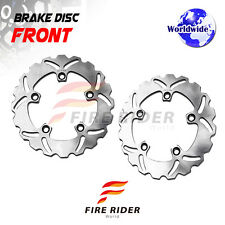 FRW 2x Front Brake Disc Rotor For YAMAHA XP T-MAX 530 ABS 12-16 12 13 14 15 16